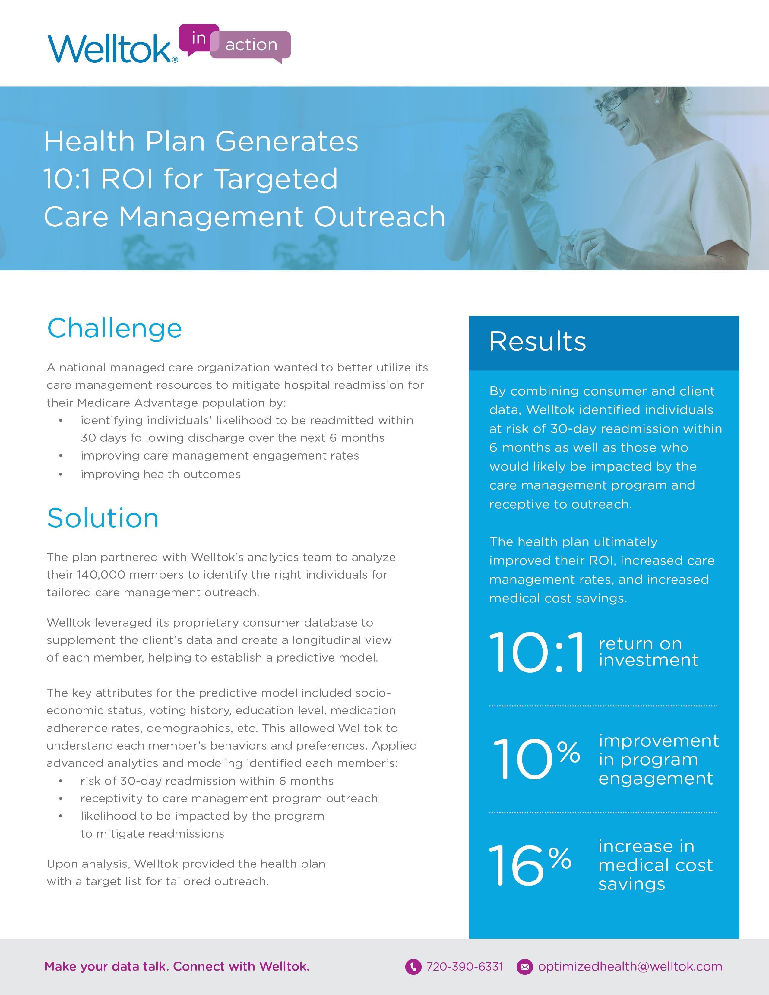 10 to 1 ROI for Targeted Care Management Outreach.jpg