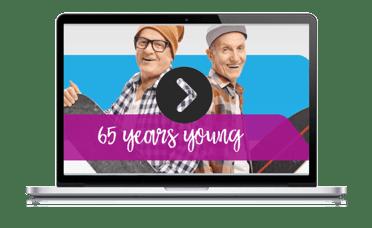 Medicare survey webinar laptop replay